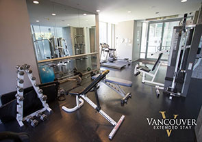 Gym at The Residences on Georgia