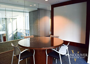 Meeting Room at The Residences on Georgia