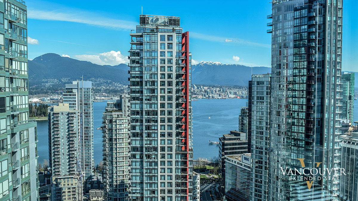 Photo of apartment 2903 - 1200 West Georgia Street, Vancouver, BC V6E 4R2