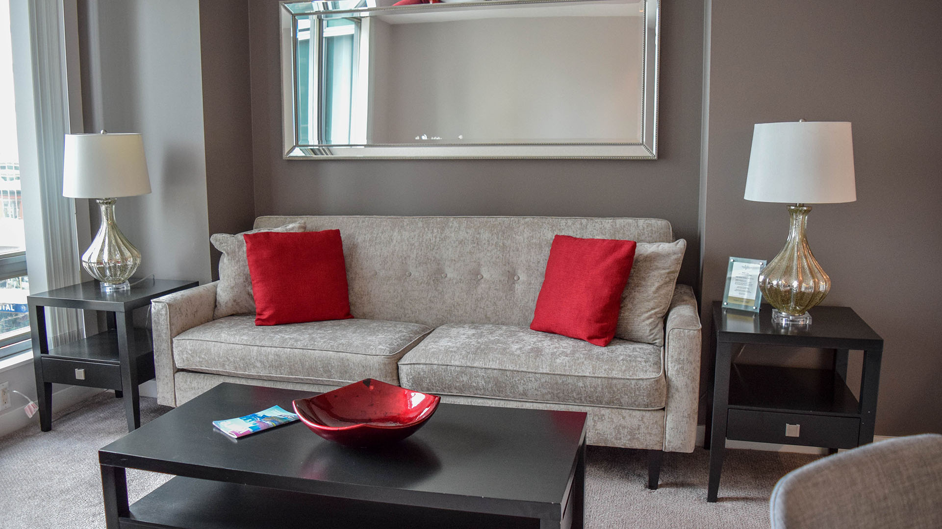 Photo of fully furnished apartment #703 at The Residences on Georgia, 1200 West Georgia Street, Vancouver, BC