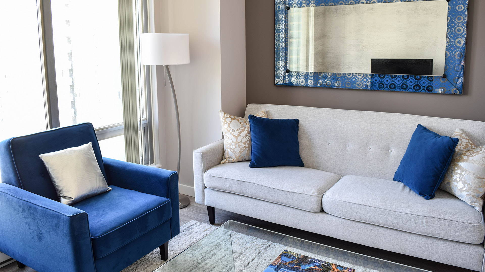 Photo of fully furnished apartment #1203 at The Residences on Georgia, 1288 West Georgia Street, Vancouver, BC