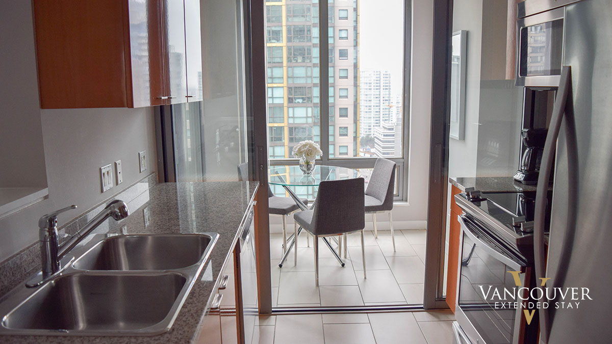 Photo of apartment 1401 - 1288 West Georgia Street, Vancouver, BC V6E 4R3