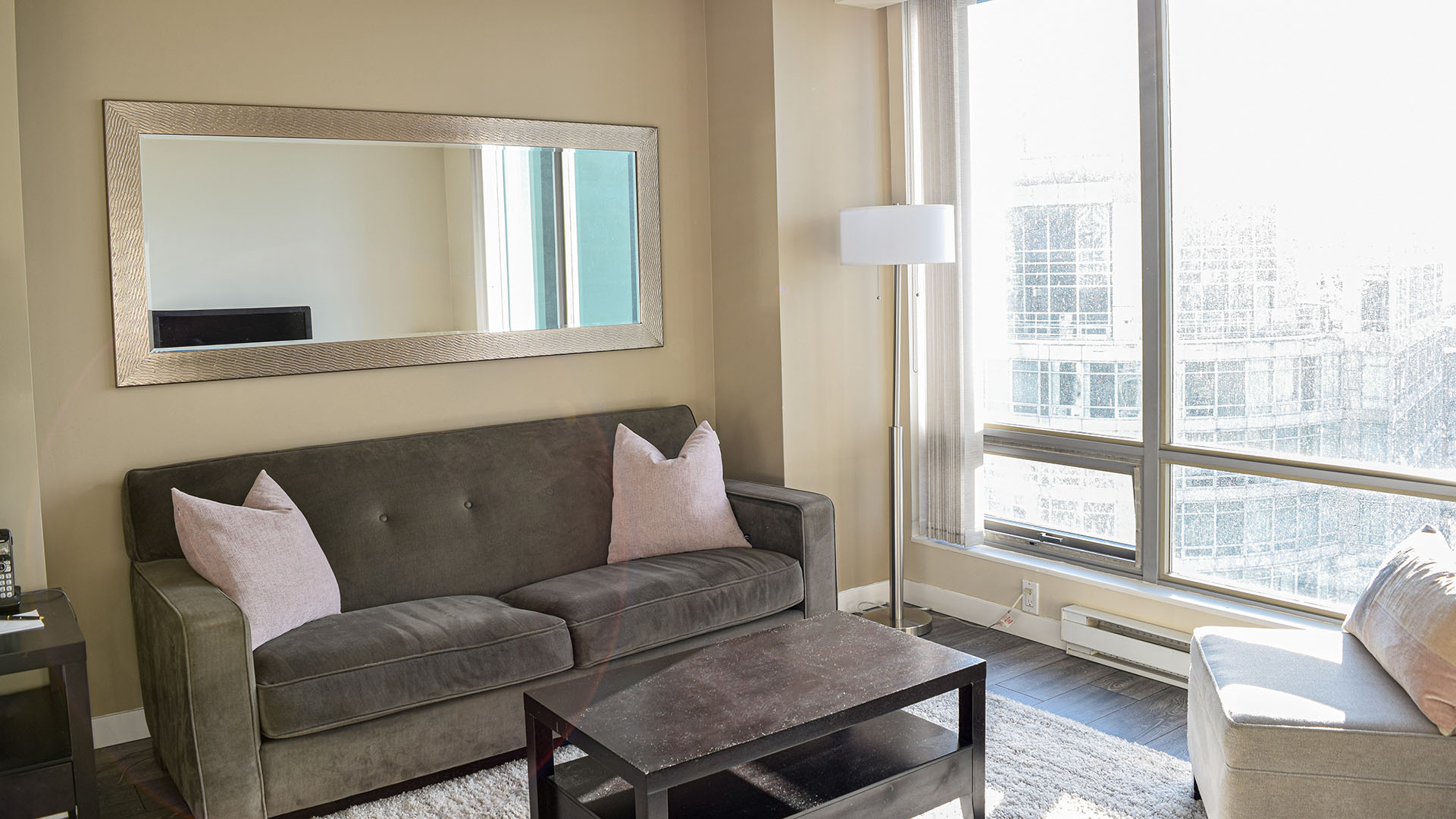 Photo of fully furnished apartment #2607 at The Residences on Georgia, 1288 West Georgia Street, Vancouver, BC