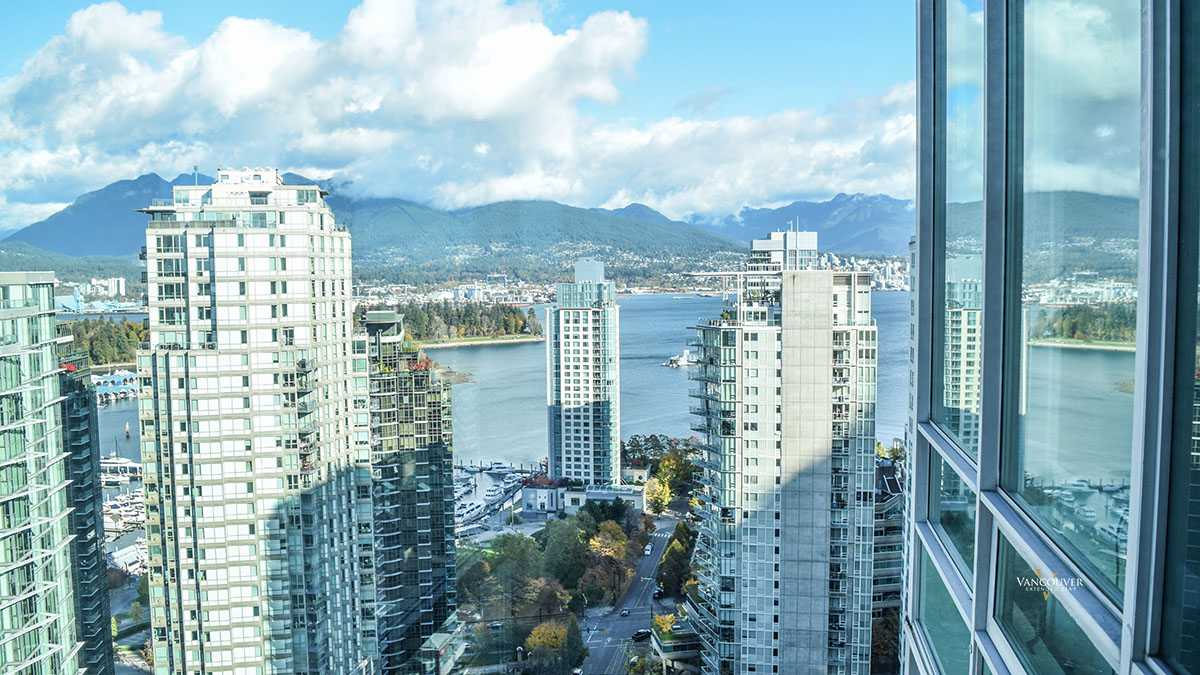 Photo of apartment 2702 - 1288 West Georgia Street, Vancouver, BC V6E 4R3