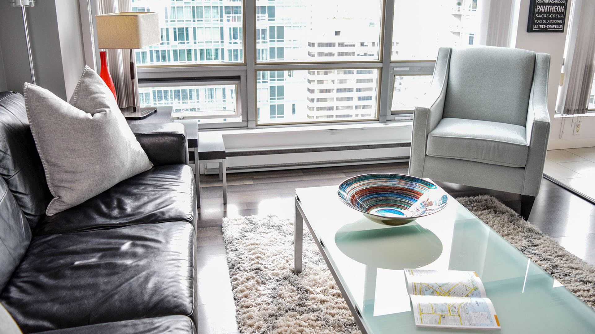 Photo of fully furnished apartment #2904 at The Residences on Georgia, 1288 West Georgia Street, Vancouver, BC