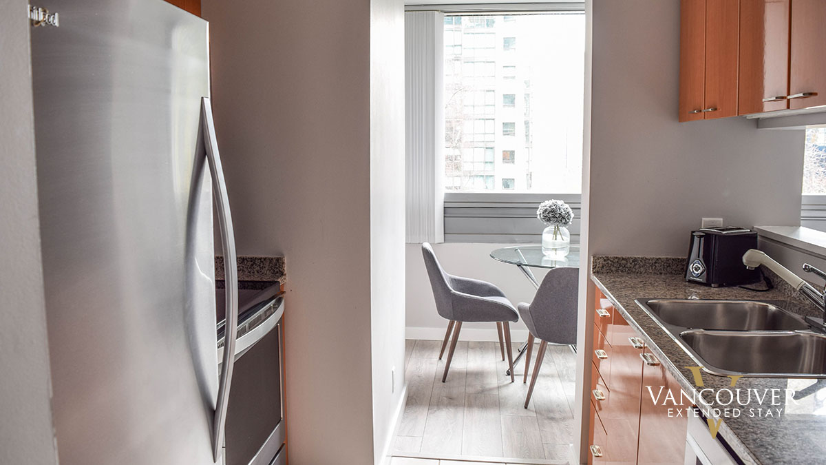 Photo of apartment 302 - 1288 West Georgia Street, Vancouver, BC V6E 4V2