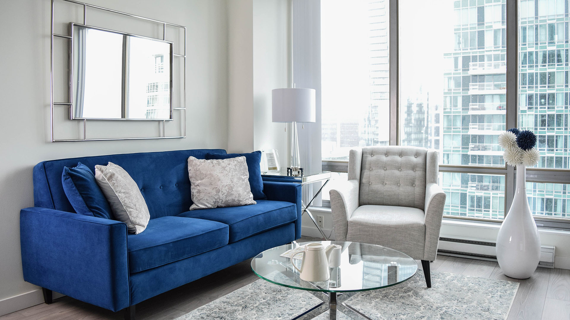 Photo of fully furnished apartment #3104 at The Residences on Georgia, 1288 West Georgia Street, Vancouver, BC