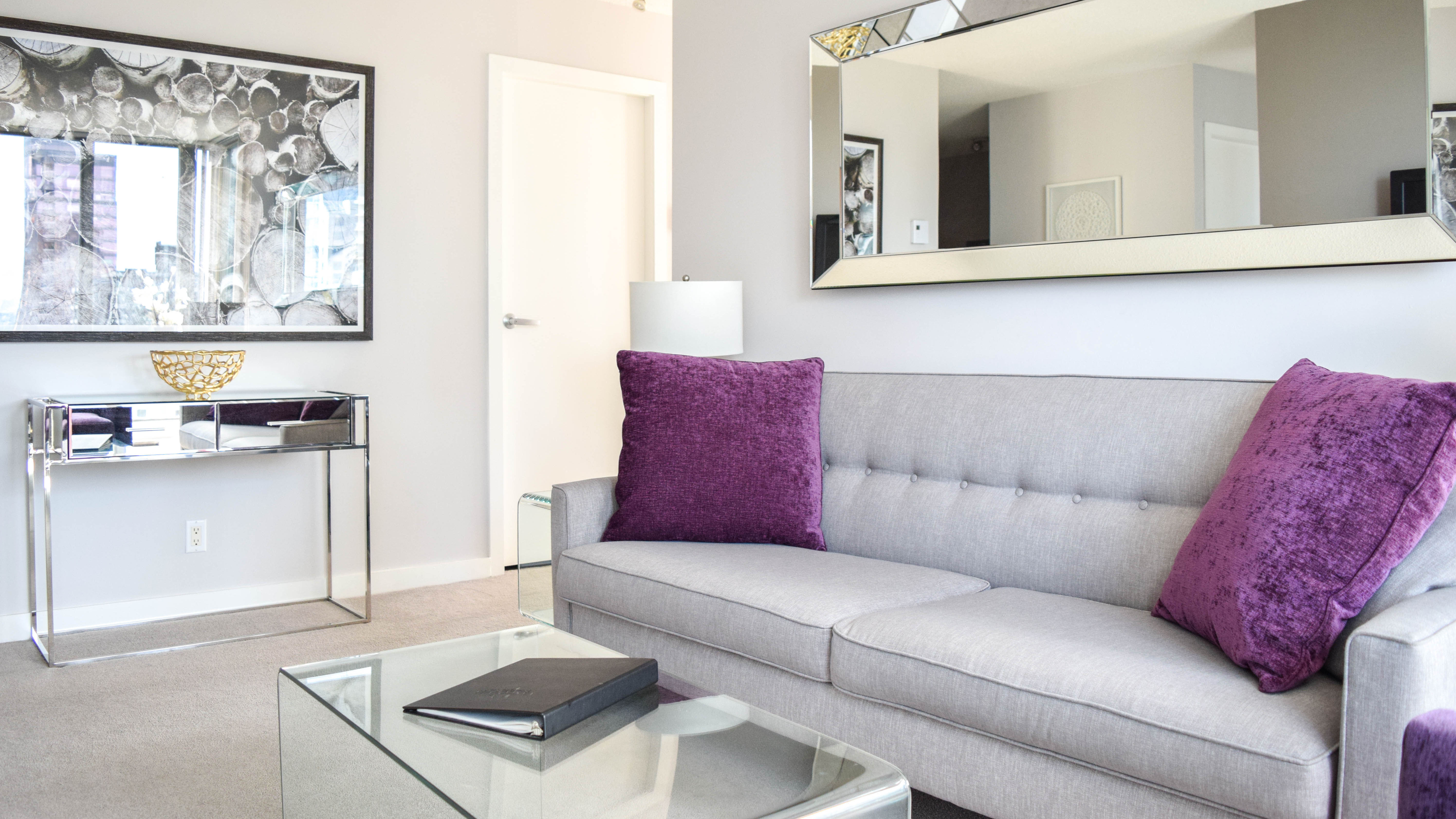 Photo of fully furnished apartment #1508 at The Residences on Georgia, 1288 West Georgia Street, Vancouver, BC