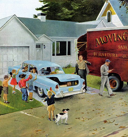 Moving Day by George Hughes