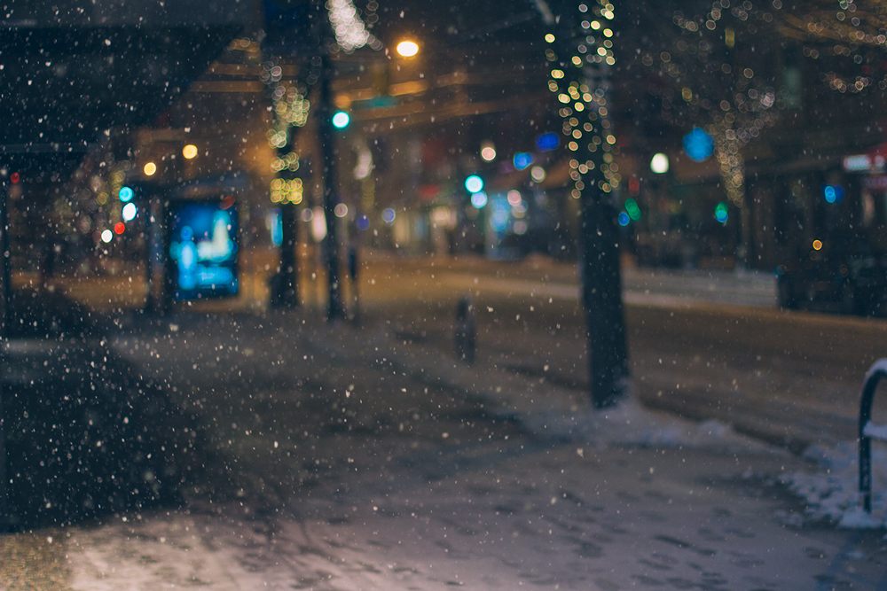Snowy Vancouver by Gabriel Santiago on Tumblr