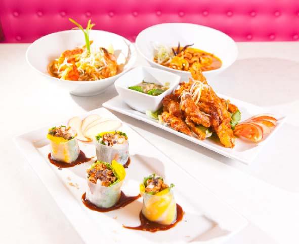 Pink Thai Food