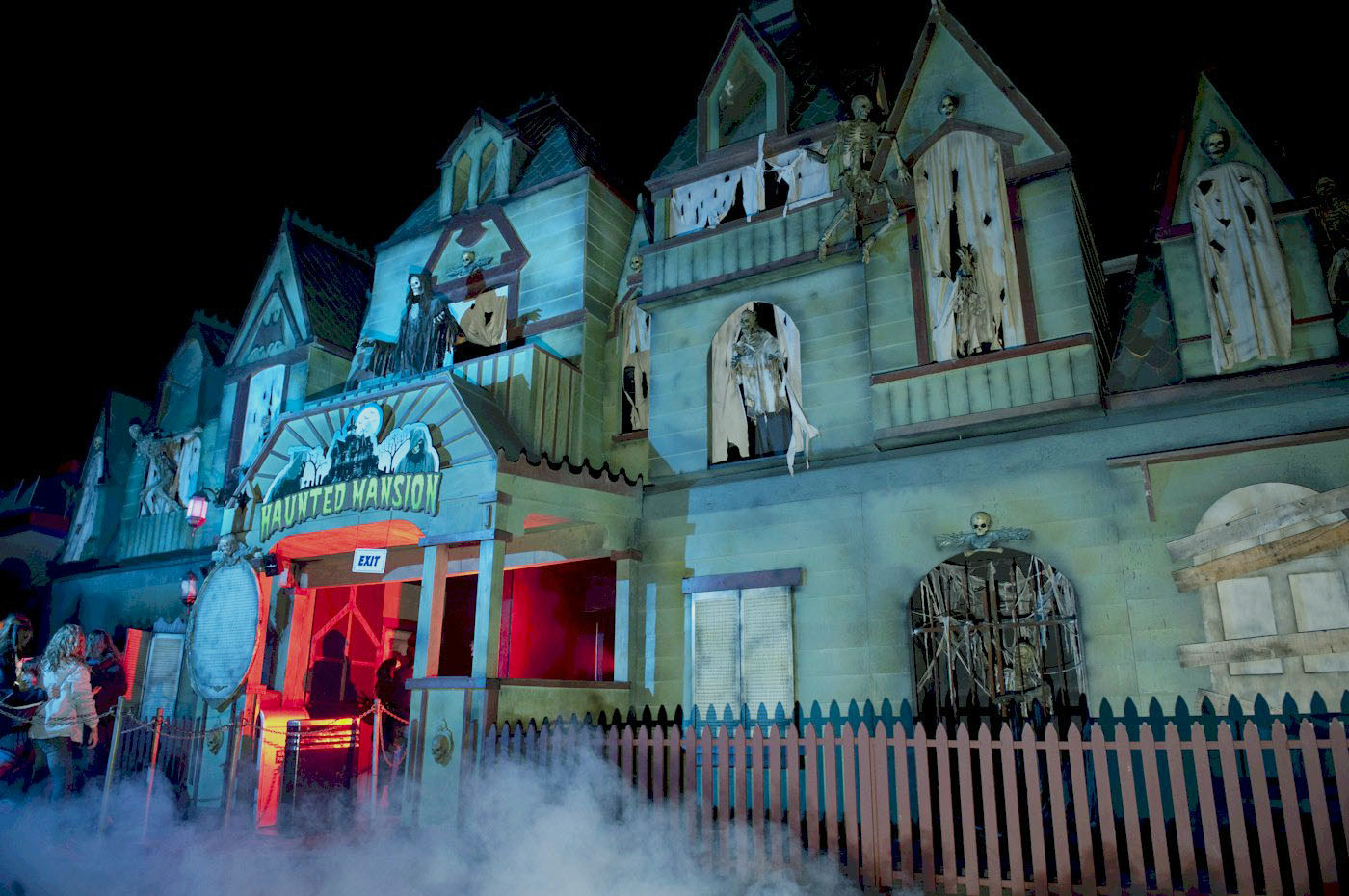 PNE playland haunted mansion