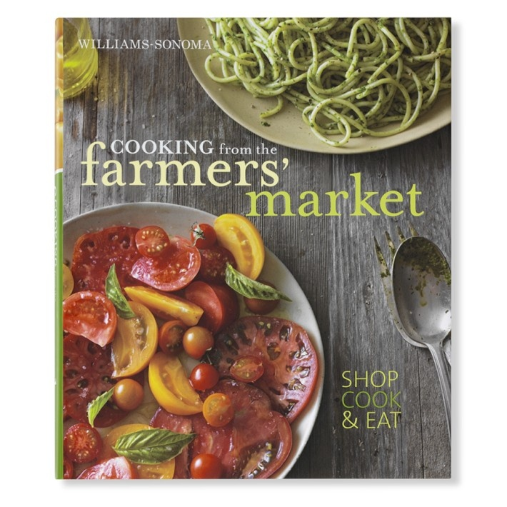 farmer's market book from Williams-Sonoma