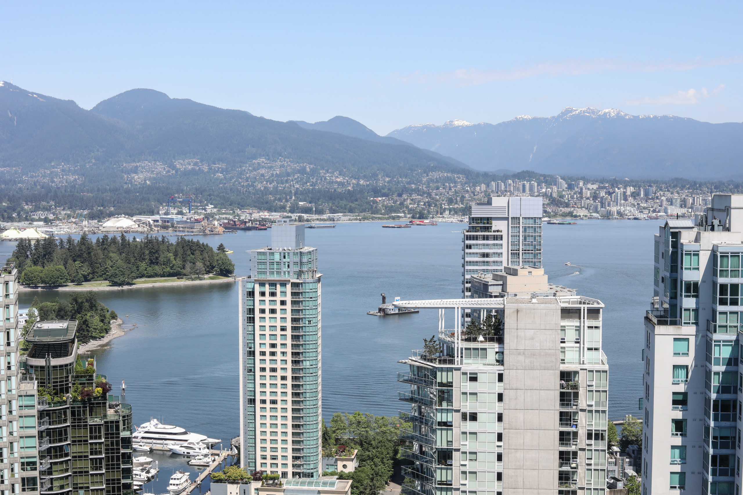 Vancouver Extended Stay Balcony View