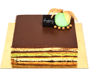 Image for Apricot Pistachio Opera from Fabourg Bakery in Vancouver