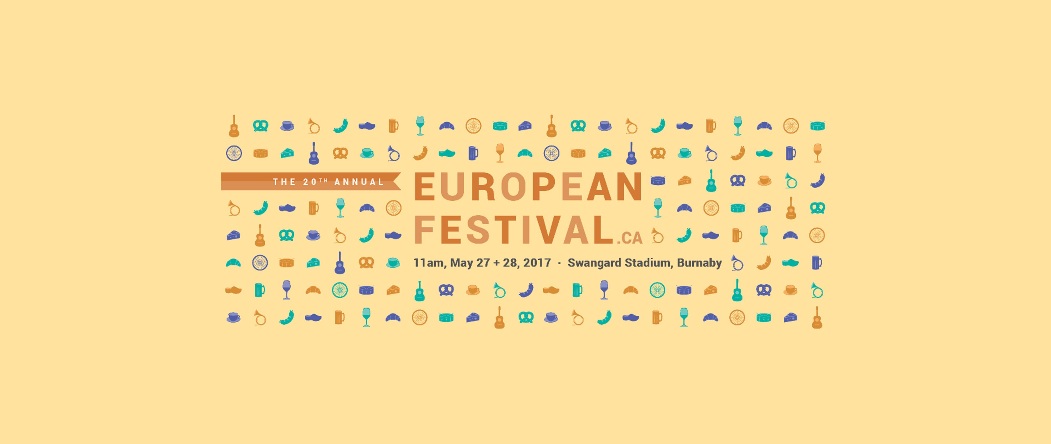 European Festival Banner