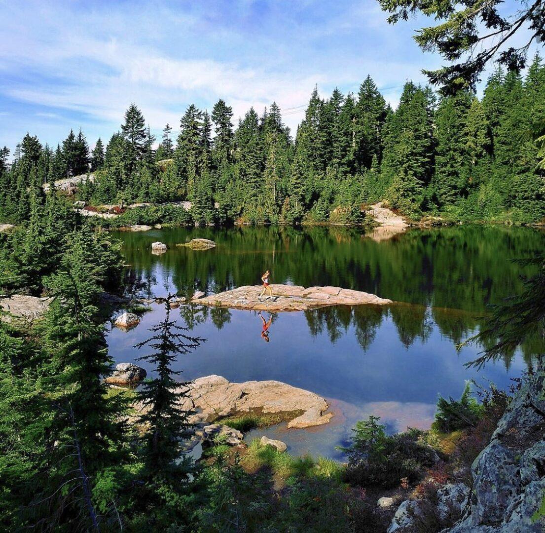 Mystery Lake Swimming