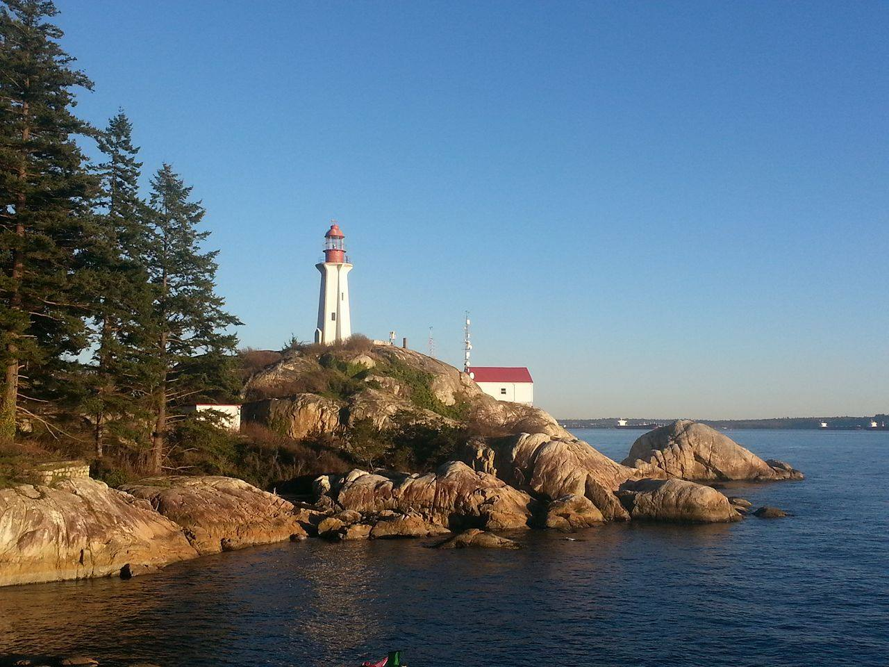 Image of Lighthouse Park in West Vancouver