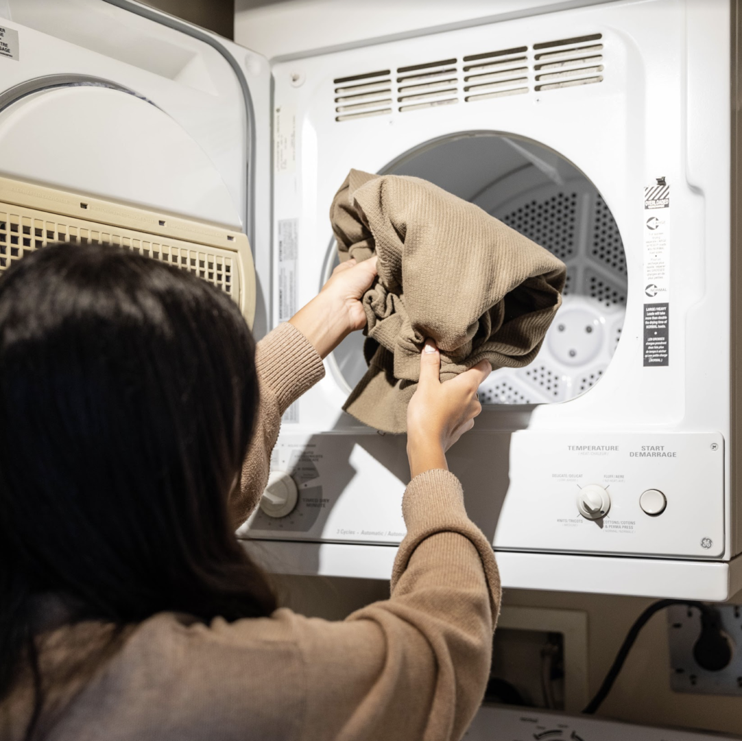in room laundry