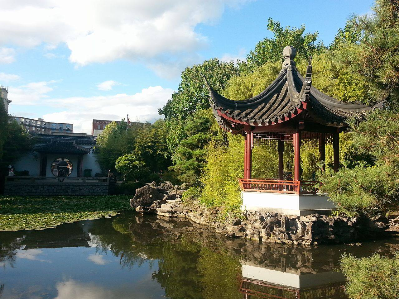 Image of Dr. Sun Yatsen Classical Garden in Chinatown