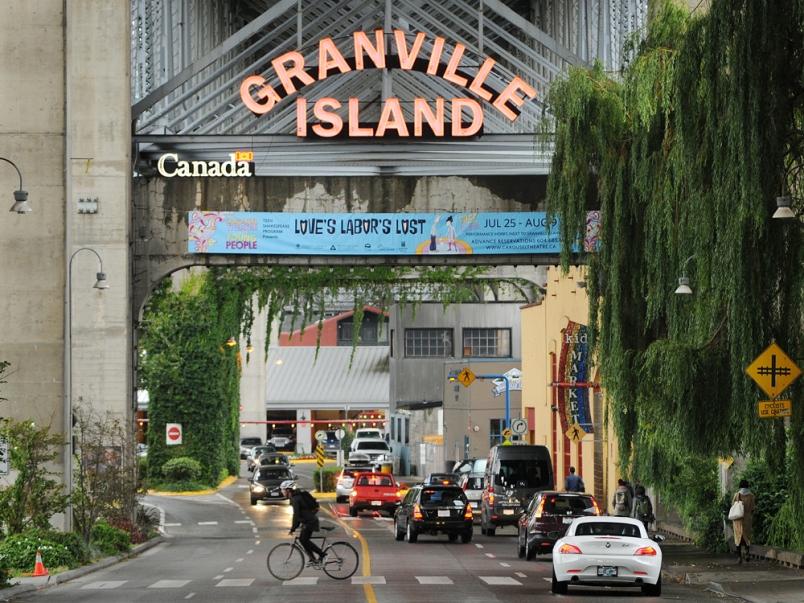 Granville Island Main Entrance