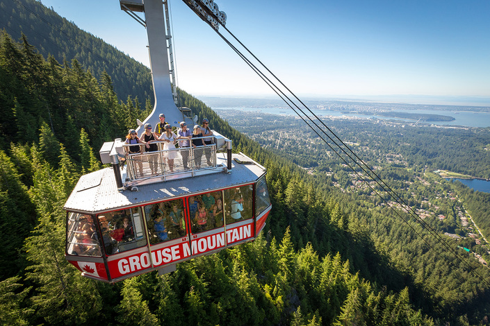 skyride-surf-at-Grouse-Mountain-in-summer